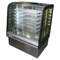 1 Bay Heated Bakery Display Case