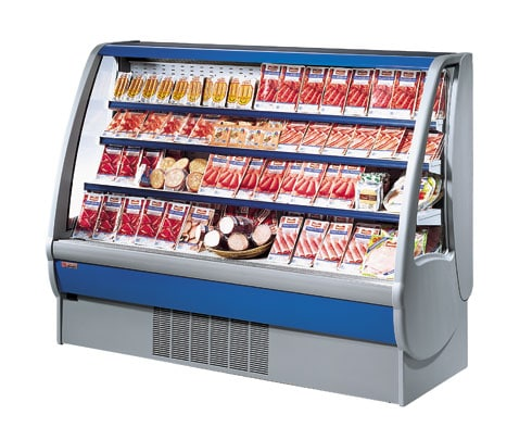 1360mm Wide Open Display Fridge 4 Levels