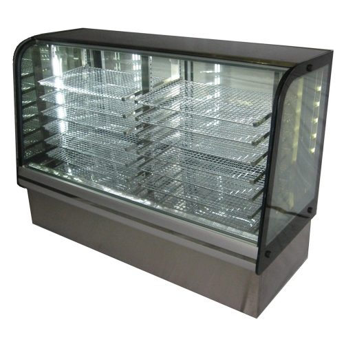 2 Bay Heated Bakery Display Case