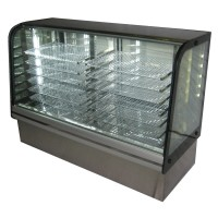 2 Bay Refrigerated Bakery Display Case