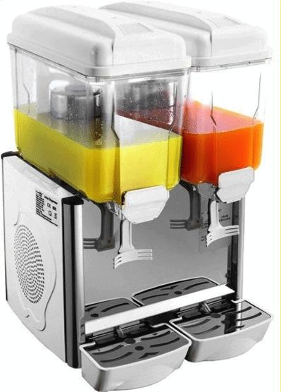 2 bowl juice dispenser