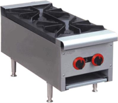 2 burner benchtop cooker