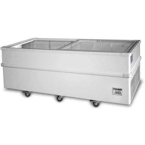 2000mm Jumbo Sliding Glass Chest Freezers
