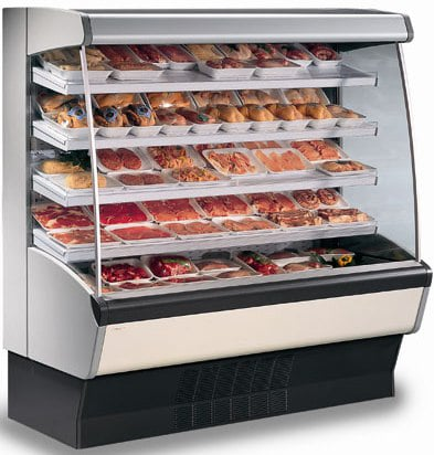 2456mm Wide Open Display Fridge