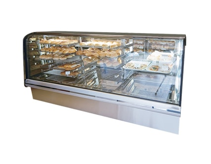 3 Bay Refrigerated Bakery Display Case
