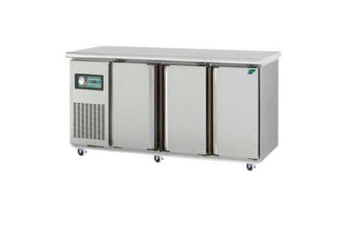 3 Solid Door Underbench Stainless Steel Storage Fridge - 1800mm wide