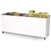 670 Litre Glass Top Chest Freezer
