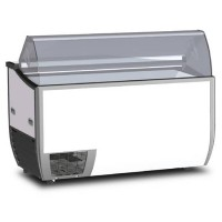 7 x 5 Litre Display Gelato / Ice Cream Freezer