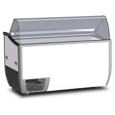 7 x 5 Litre Display Gelato / Ice Cream Freezer