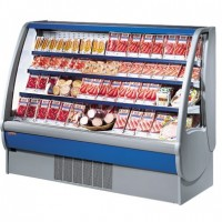 732mm Wide Open Display Fridge 4 Levels