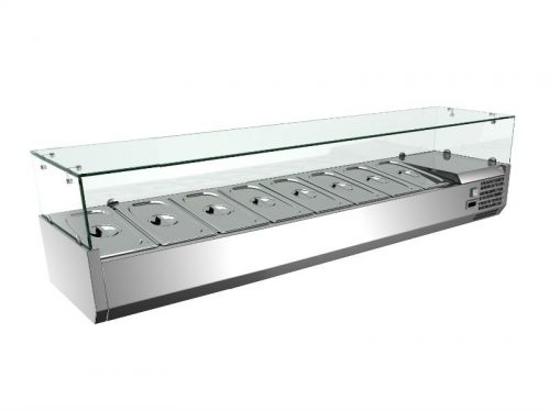 8 tray salad bar