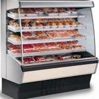 980mm Wide Open Display Fridge