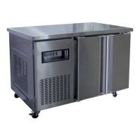 Double Solid Door Bakers Underbench Freezer