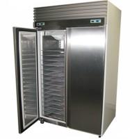 Double Solid Door Upright Bakers Storage Bakery Freezer