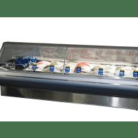 Fish / Seafood Display Deli Fridge - 3225mm