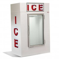 Glass Door Inside Ice Box 108KG