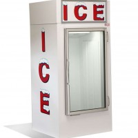 Glass Door Inside Ice Box 71KG