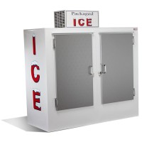 Solid Door Outside Ice Box 198KG