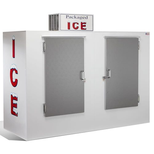 Solid Door Outside Ice Box 317KG