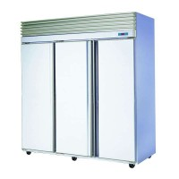 Triple Solid Door Upright Bakers Storage Bakery Fridge