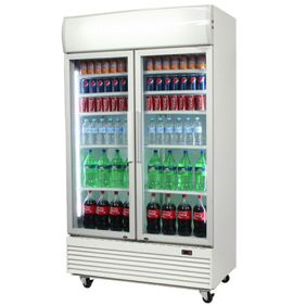 Upright Display Fridge & Freezer