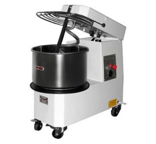 tilt head spiral dough mixer