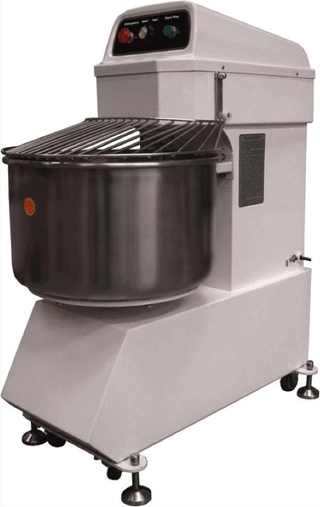variable speed spiral dough mixer
