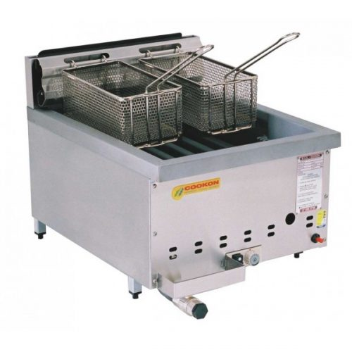 deep countertop commercial basket restaurant tank electric double fryer french fry item chicken