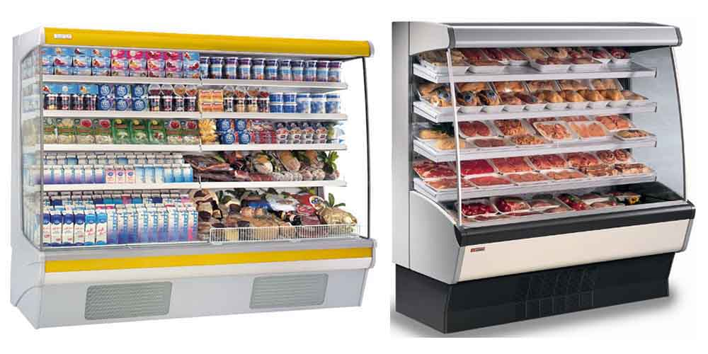 Open Display Fridges