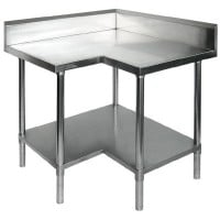 Stainless Steel Corner Benches