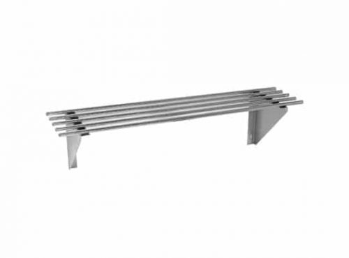 Stainless Steel Pipe Wall Shelves