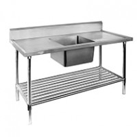Stainless Steel Single Sink Benches
