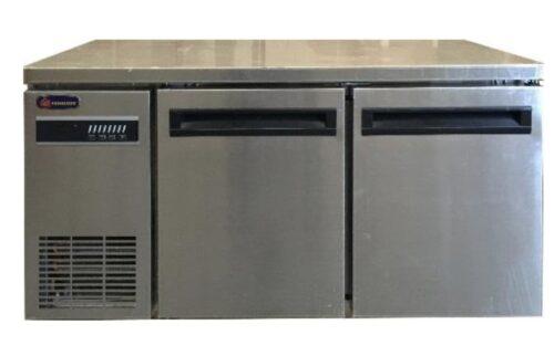 2100mm 3 Solid Door Underbench Commercial Refrigerator