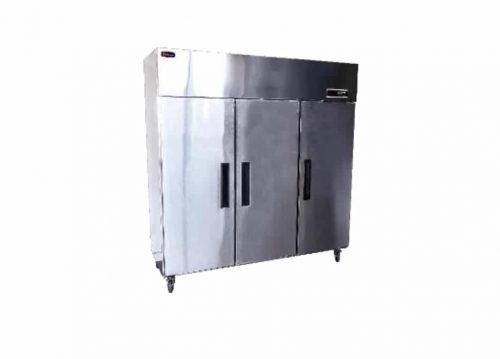 Triple Solid Door Upright Commercial Storage Fridge 1000 Litres