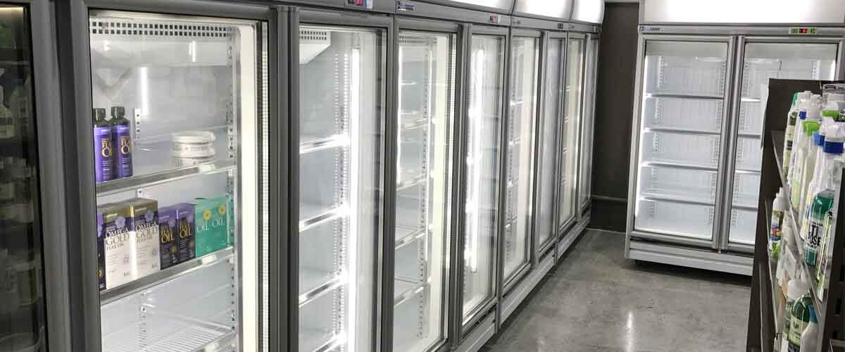 Upright Display Fridges & Freezers