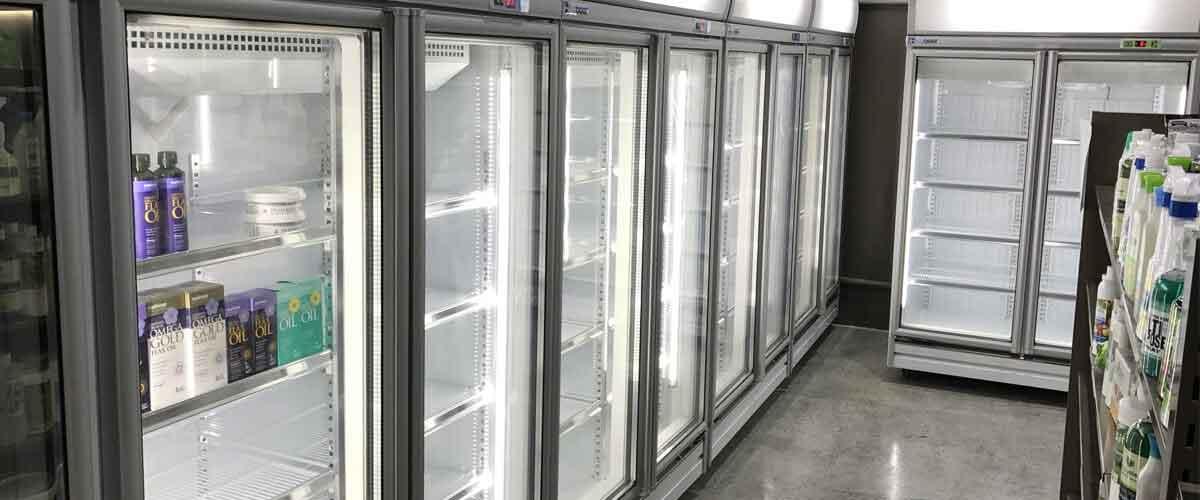 Upright Display Fridges & Freezers