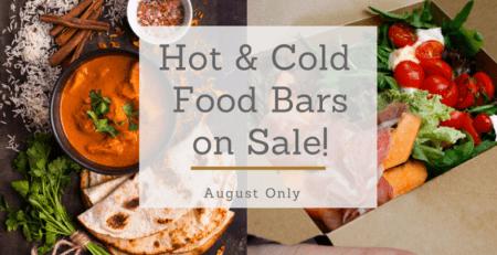 Roband Hot & Cold Food Bars