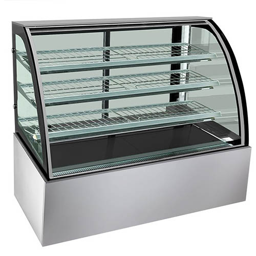 Fed Sl860 Bonvue 1800mm 4 Level Curved Glass Chilled