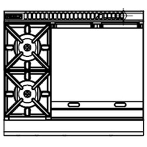 Waldorf RNLB8606G-LS