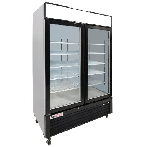 NovaChill SM1300GF-GZ - Double Door Cabinet