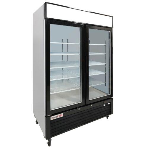 NovaChill SM1300GF-GZ - Double Door Cabinet
