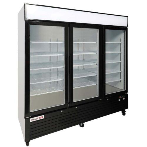 NovaChill SM2000GF-GZ - Triple Door Cabinet